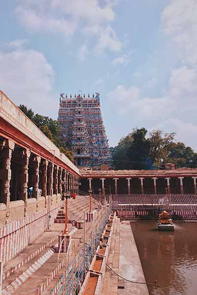 Temple in Madurai, South India