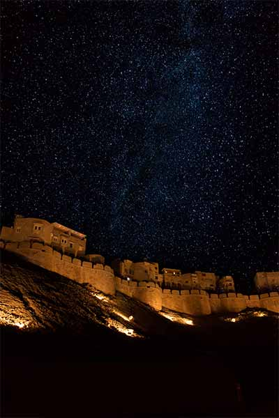Mehrangarh fort in Night, Jodhpur